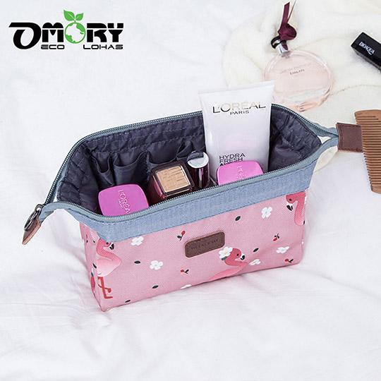OMORY 韓式立體大容量收納/化妝包-任選