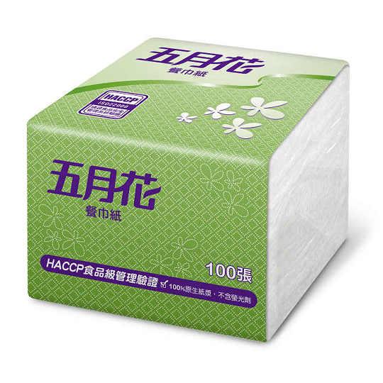 Yesgogogo五月花 五月花餐巾紙100張48包